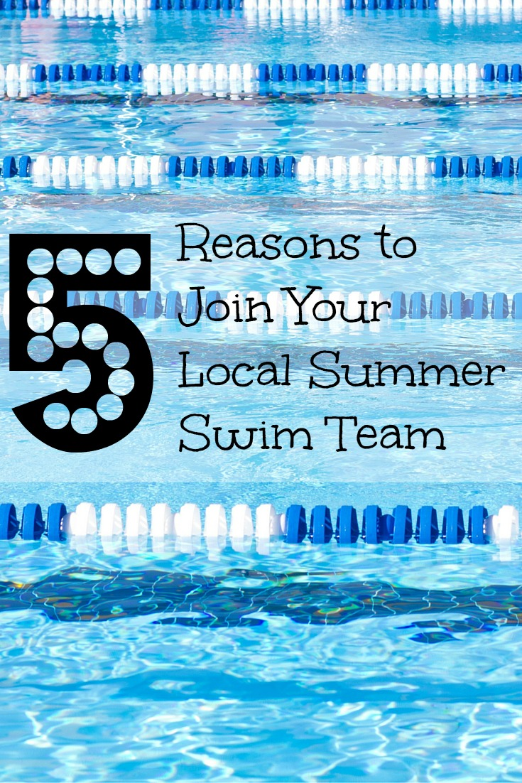 Join Summer Swim Team Pinterest