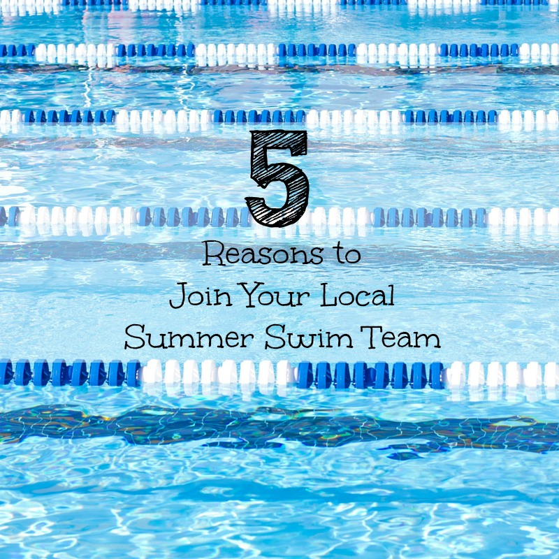 Join summer Swim Team FB