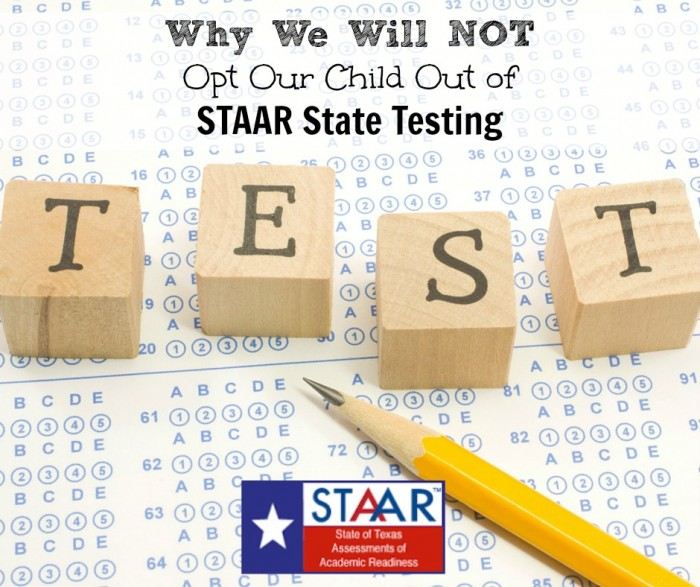 opt out of state testing FB