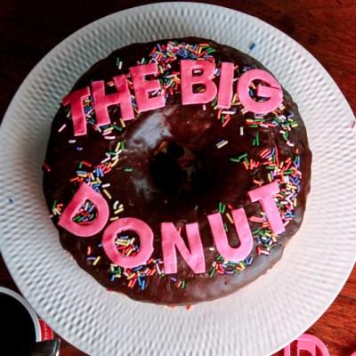 DIY Zootopia Inspired The Big Donut Cake