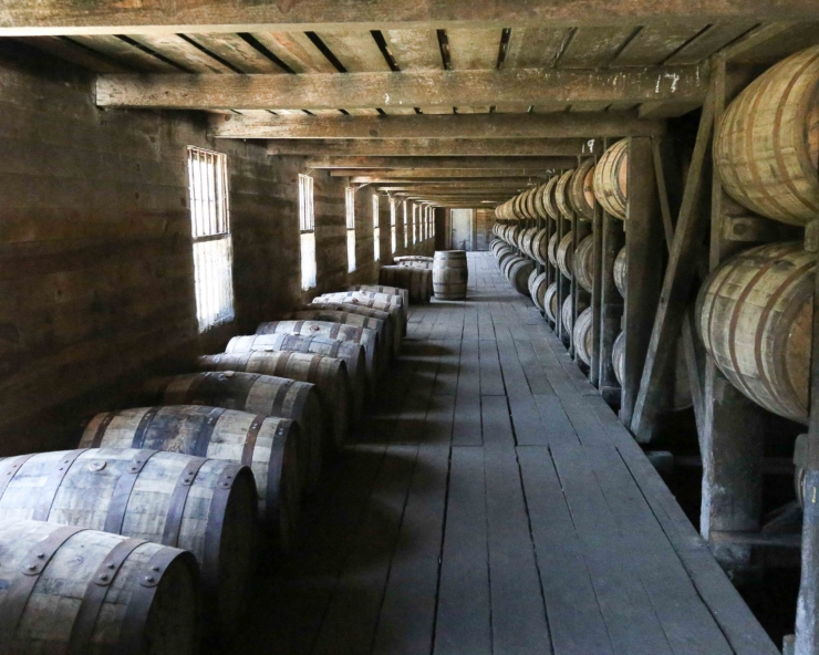 Kentucky's Bourbon distilleries