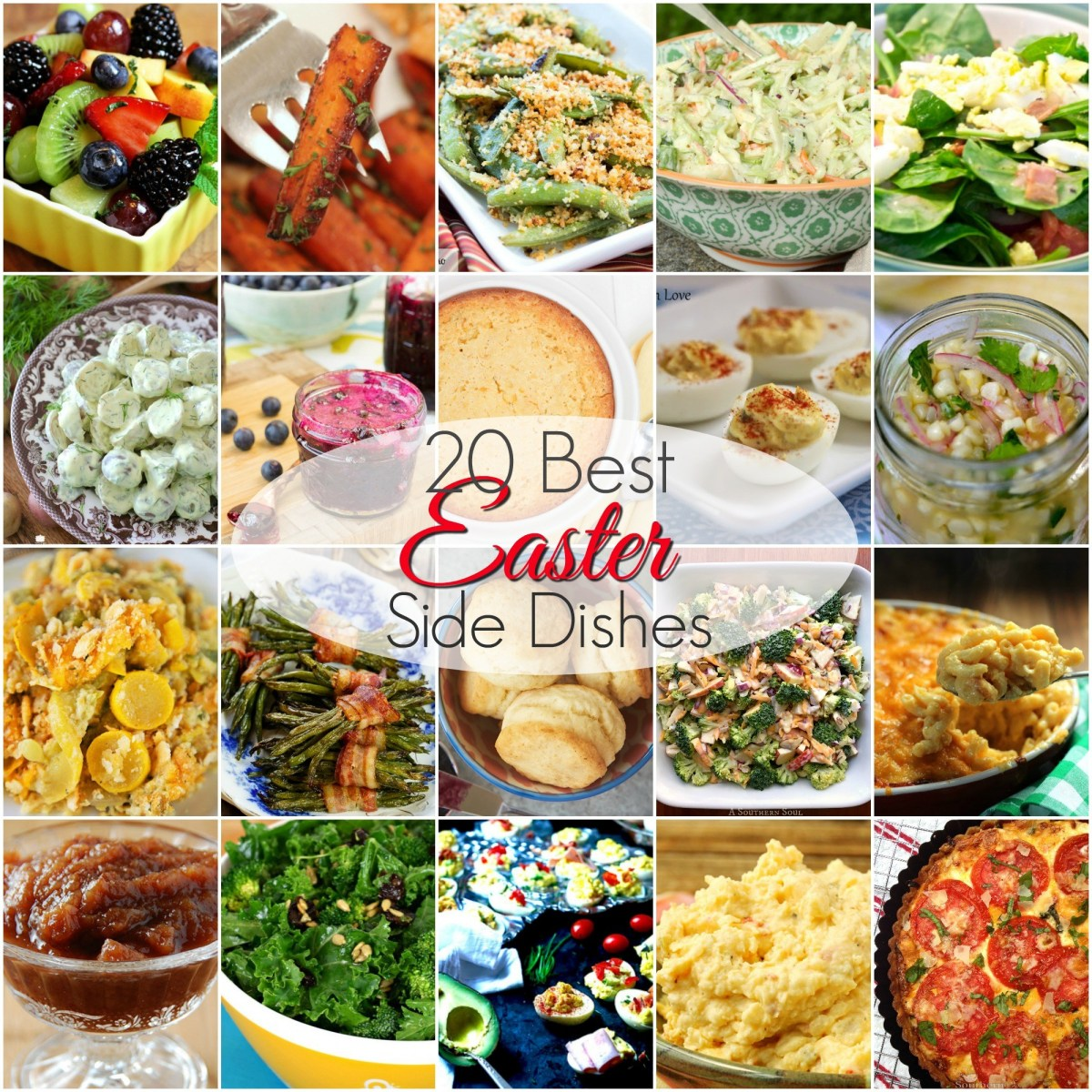 Sode Dishes: 20 BEST Easter Side Dishes