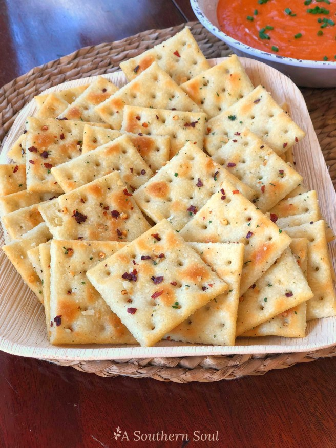 saltine crackers with ranch and red pepper no bake