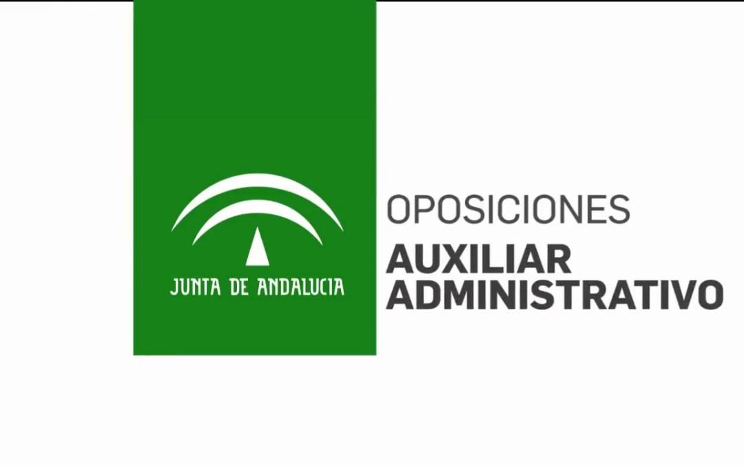 Listas aprobados auxiliar administrativo