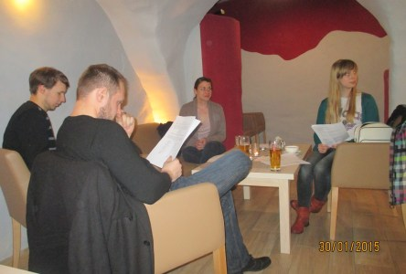 Sips and Sonnets: A Poetry Night for ESL Students