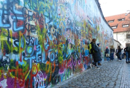 The Lennon Wall in Prague: Writing on the Wall