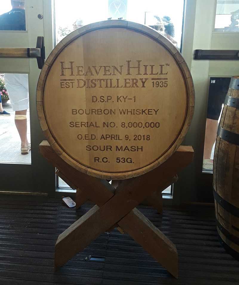 Heaven Hill barrel