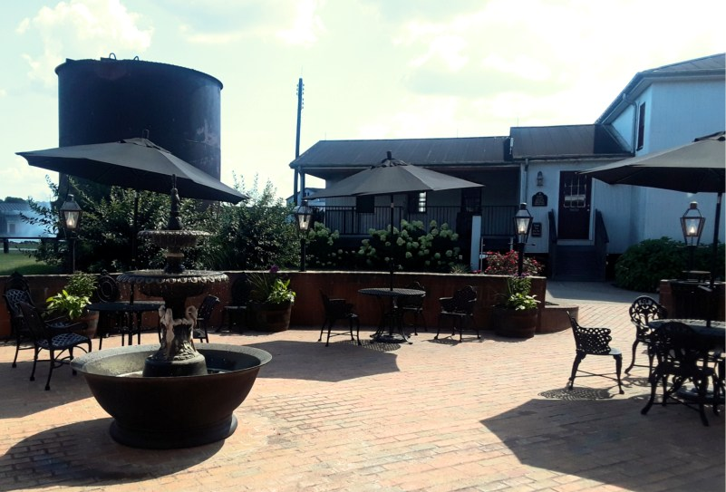 Willett Distillery Patio