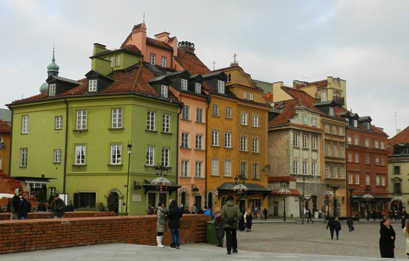 Warsaw houses