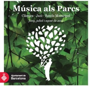 Música als Parcs: Live music program in Barcelona's parks