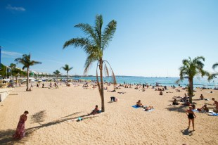 Barcelona Beach in Summer
