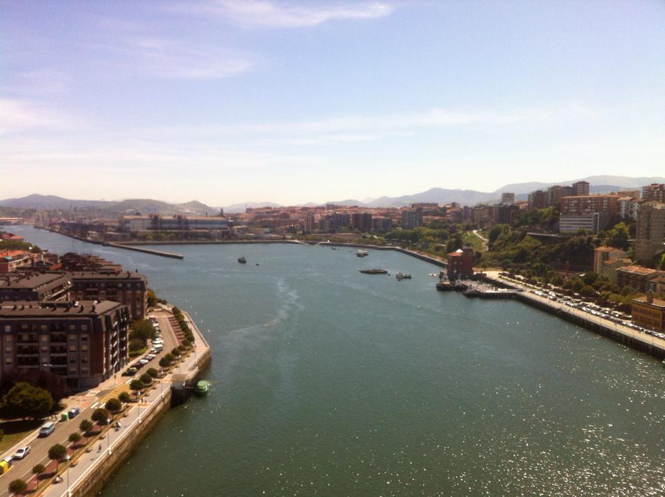 vista Puente Colgante