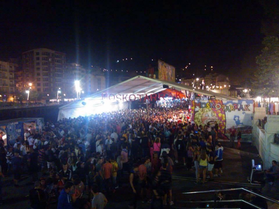 Aste Nagusia Semana Grande Bilbao - Arenal - aspassoperlaspagna.it