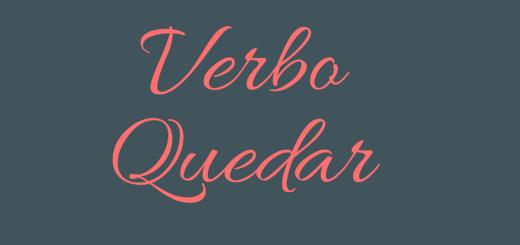 verbo quedar - aspassoperlaspagna.it