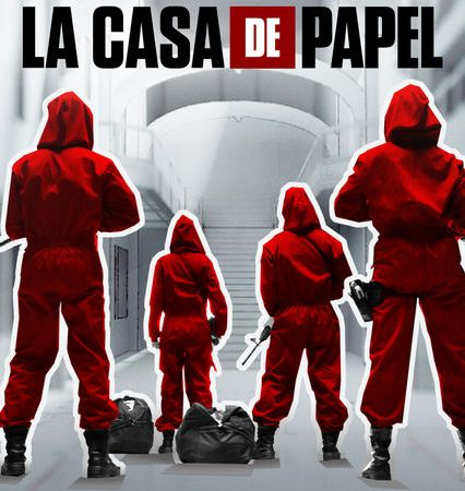 la casa de papel - photo credit netflix