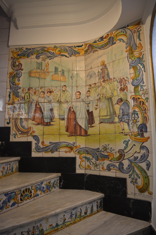 Horchateria Santa Catalina - decorazioni ceramica -aspassoperlaspagna.it