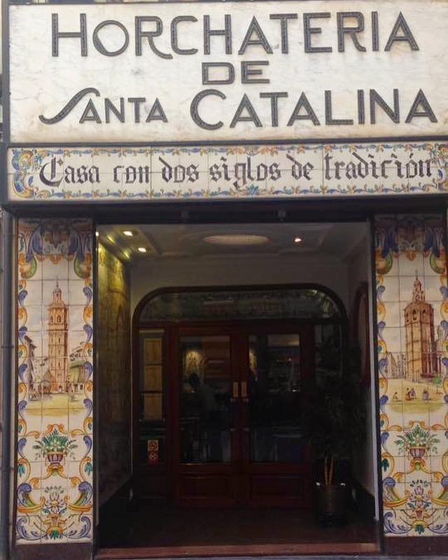 Horchateria Santa Catalina - entrata - aspassoperlaspagna.it