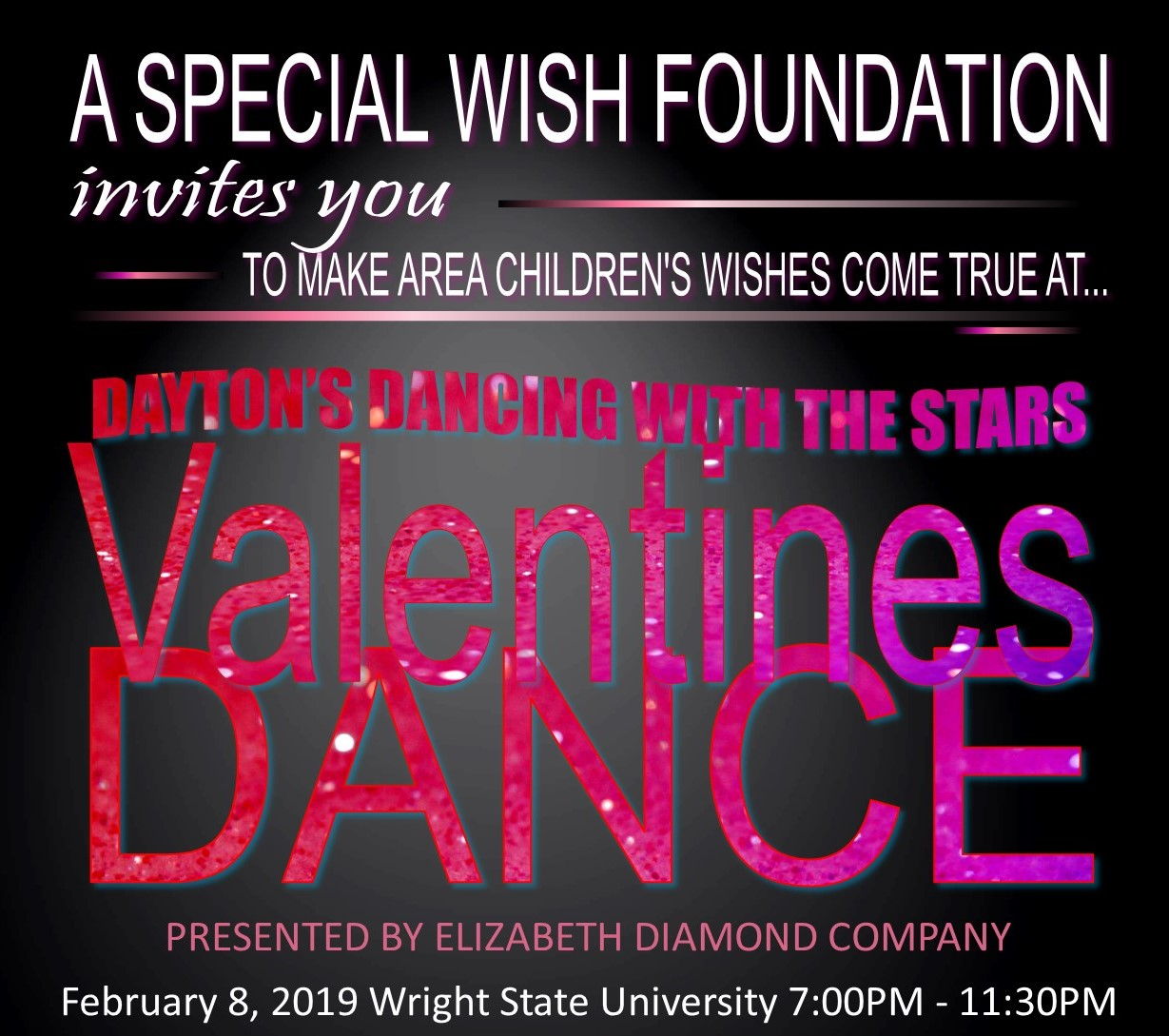 2019 Valentines Dance Dayton Dancing With The Stars Presented By Elizabeth Diamond Company