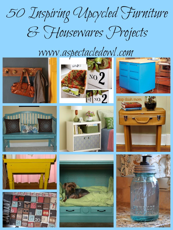 50 Inspiring Upcycled Furniture Amp Housewares Projects