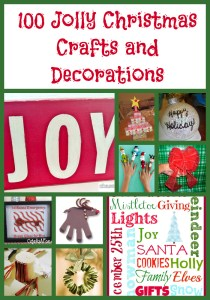 100 Christmas Crafts & Decorations
