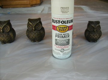 DIY - How To Spray Paint Metal