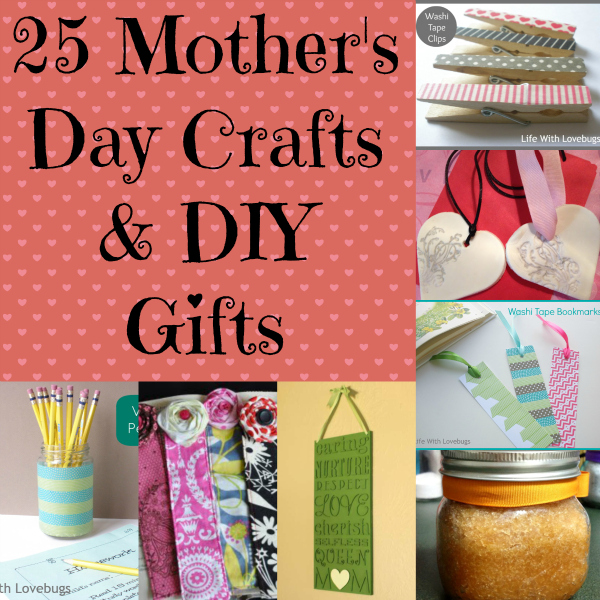 25 Mother's Day Crafts & DIY Gifts - A Spectacled Owl