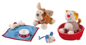 Playtime is Funtime with HABA's Hound Leo and Cat Lucy Play Sets