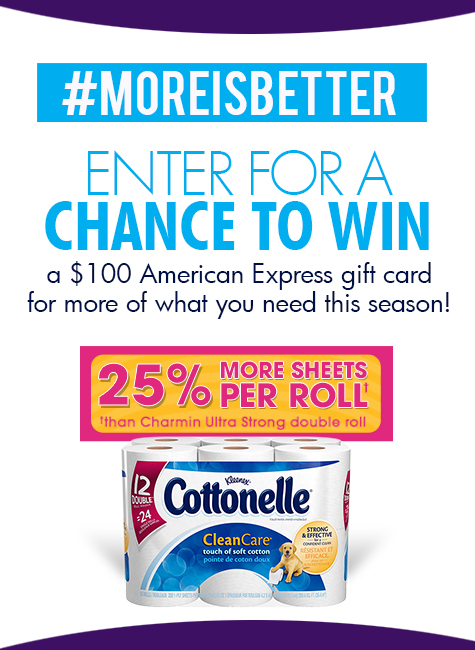 #MoreIsBetter with Cottonelle