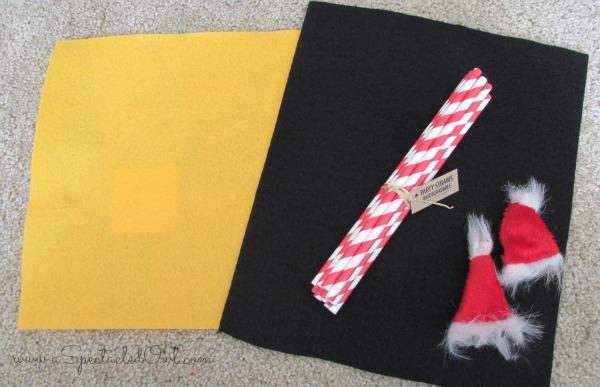 Santa's Milk Bottle - Easy Christmas Craft
