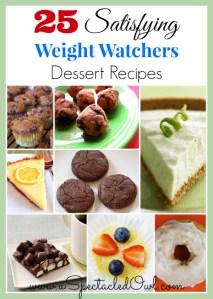 25 Satisfying Weight Watchers Dessert Recipes