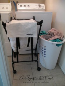 The Lifter Hamper Makes Laundry Easier