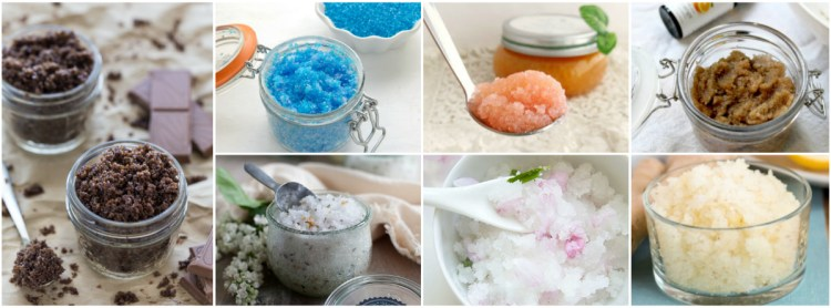 30+ Homemade Body Scrubs