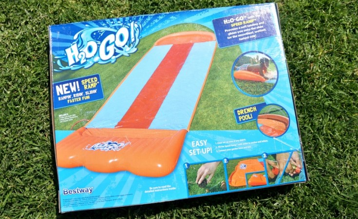 H2OGO! Backyard Water Slide