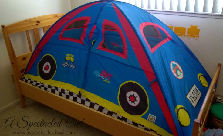 Creating a Fun Bedroom with Pacific Play Tent