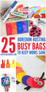 25 Boredom-Busting Busy Bags
