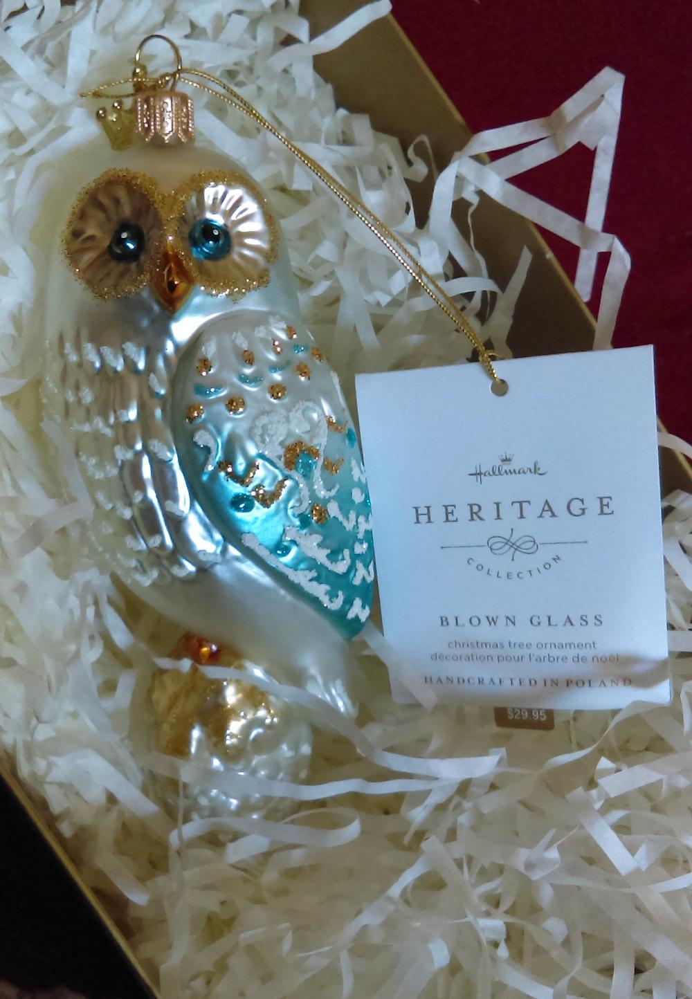 Hallmark Heritage Collection Ornaments