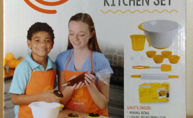 Kids Can Master the Kitchen with MasterChef Junior Cooking Sets