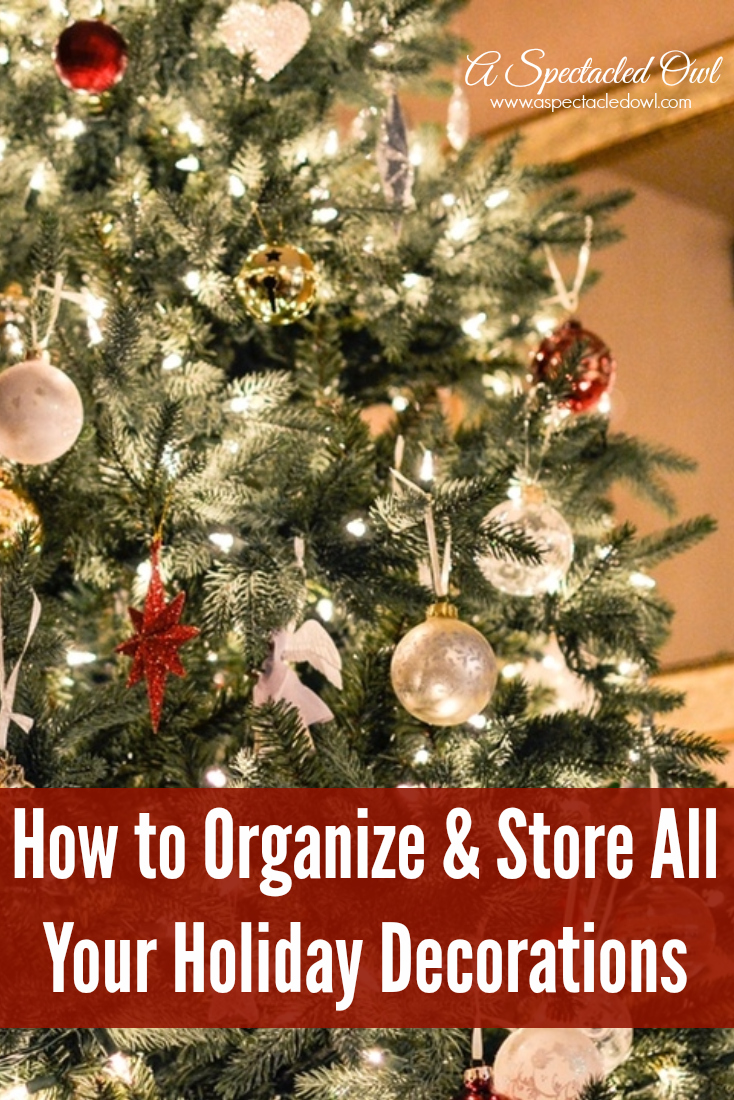 How to Organize & Store All Your Holiday Decorations