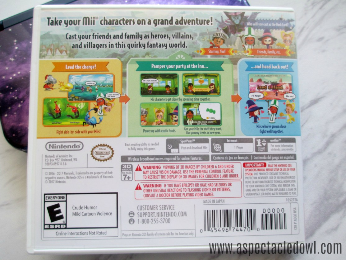 Kid Review - Miitopia for the Nintendo 3DS