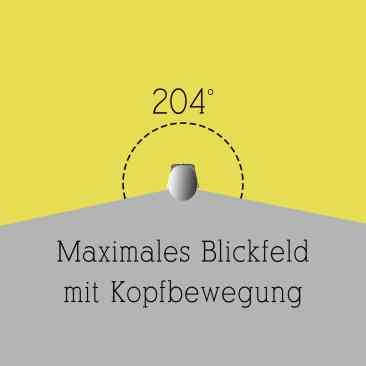 Maximales Blickfeld