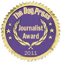 Dog Press Journalist Award