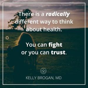 Trust not Fight