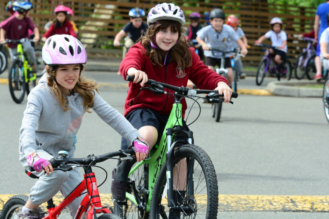 Bike to School week nanaimo