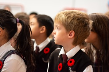 remembrance day Aspengrove School Nanaimo Independent School-23