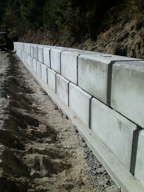 Ecology Block Retaining Wall Design