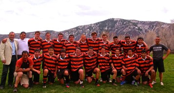 Jr Gents after their win against Ft Collins.