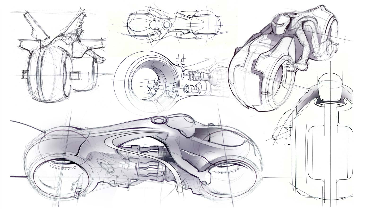 Daniel Simon Talks On The Tron Legacy Lightcycle Design
