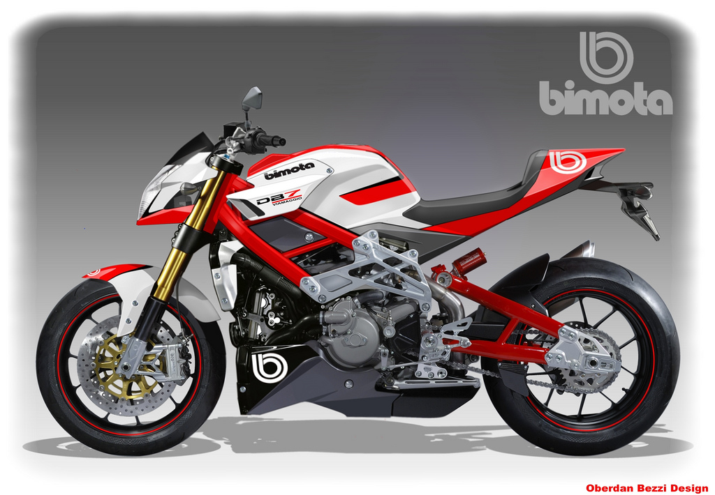 Bimota DB8 - 1098 Naked Bike Coming Friday - Asphalt & Rubber