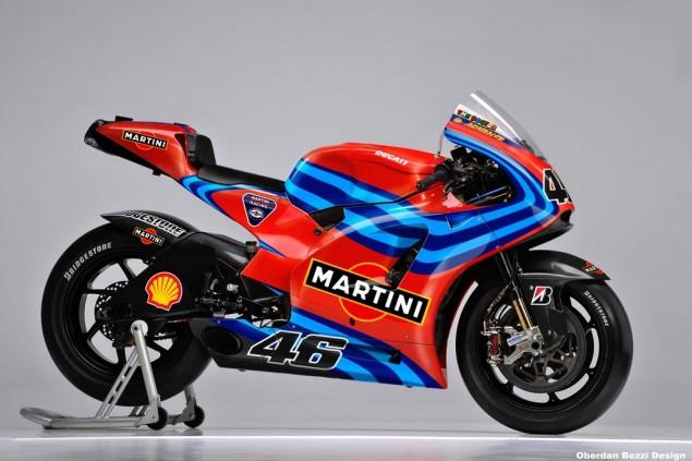 Tagged Under: 2011, Design, Drawing, Ducati, Ducati Desmosedici, Martini  Racing, MotoGP, Oberdan Bezzi, Obiboi, Render, Sketch, Valentino Rossi · «