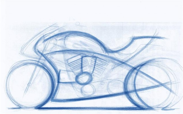 Ducati-Diavel-design-sketch